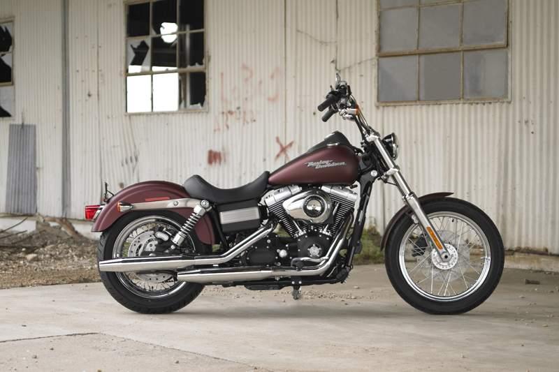 Harley Davidson Street Bob Auspuff Test
