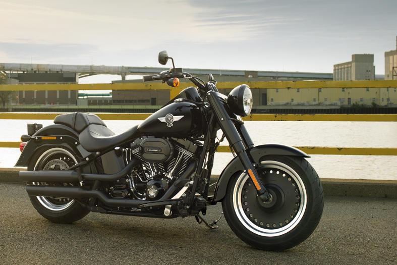 New  Harley Davidson Fatboy