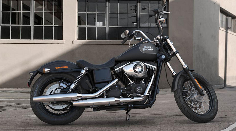 Harley Davidson Fxdb Dyna Street Bob Modell  Vivid Black