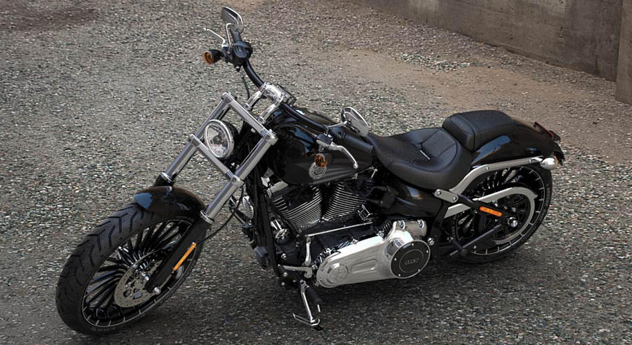Harley Davidson Breakout Vivid Black