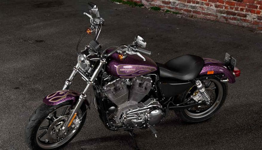 Harley Davidson Sportster Superlow