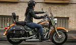 Mietmaschine Softail Heritage Classic