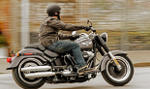 Mietmaschine Softail Fat Boy Special