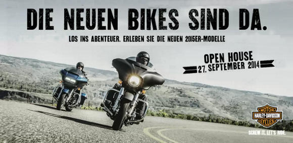 Open House am 27. September