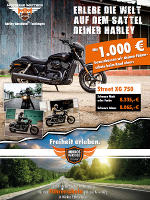 Street XG750 Aktion beim Open Air Sommerfest, 30./31. Juli