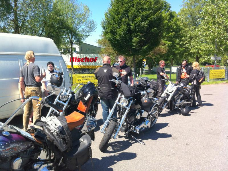 1. Roll the Rocks Tour: Kleine Pause unterwegs