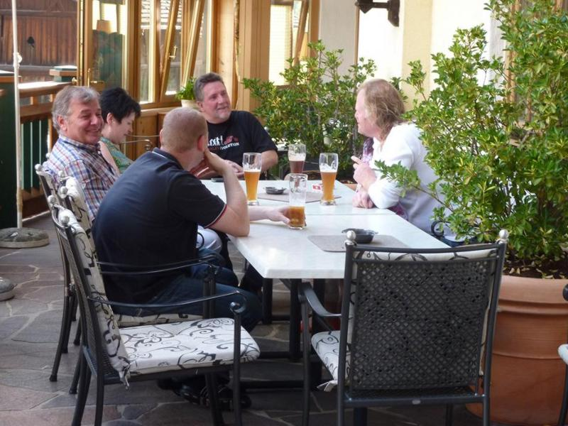 1. Roll the Rocks Tour: Bierchen nach der Tour