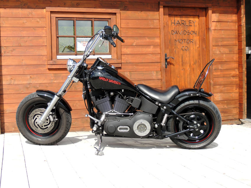 motorrad matthies used softail night train im gebrauchtmarkt. Black Bedroom Furniture Sets. Home Design Ideas
