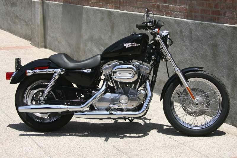 Harley Davidson  Iron Verbrauch