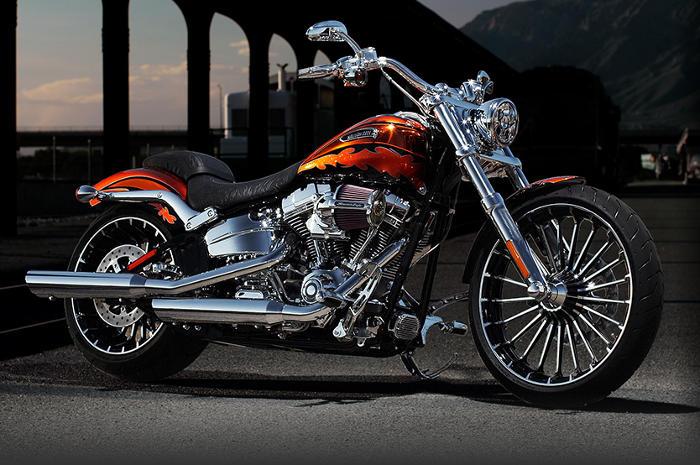 Chevy Dealer Milwaukee >> Harley-Davidson CVO Screamin Eagle Softail Breakout Modell ...