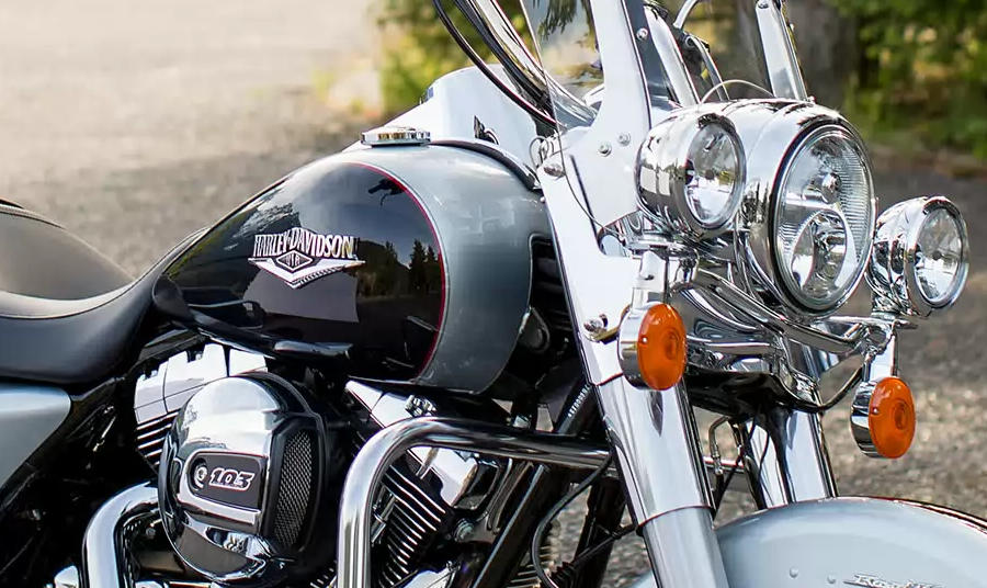 Colors Of  Harley Davidson