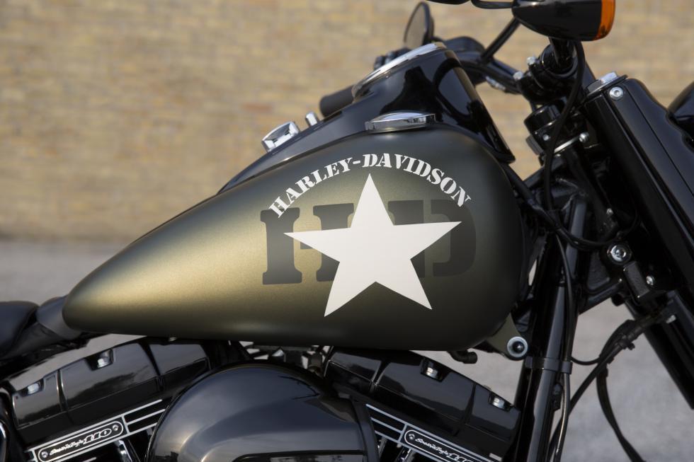 Harley Davidson Vivid Black Paint