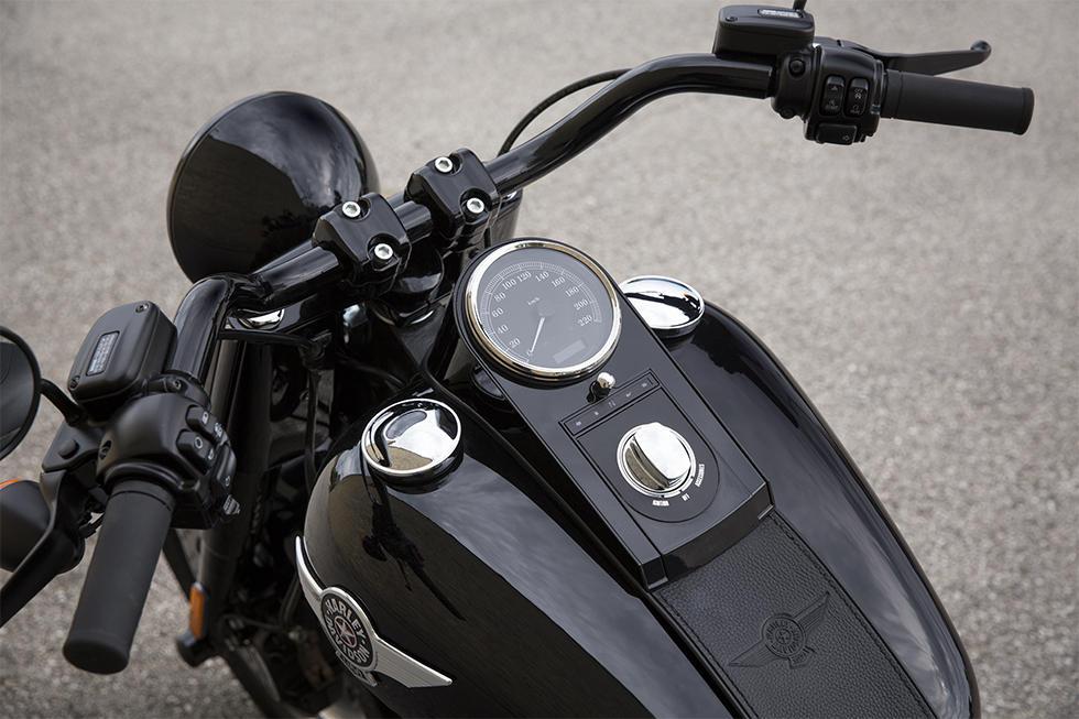 Harley-Davidson Softail Fat Boy S Modelljahr 2016 - Bike & Bildergalerie