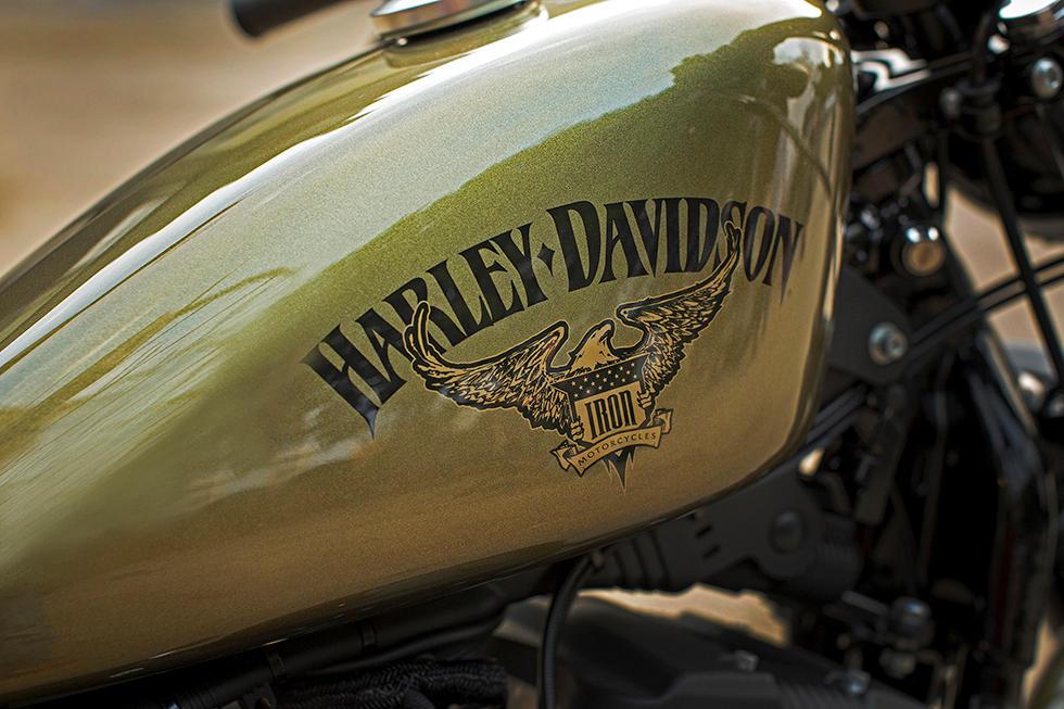 Harley Davidson Sportster 1200 >> Harley-Davidson Sportster XL 883 Iron Modelljahr 2016 - Bike & Bildergalerie