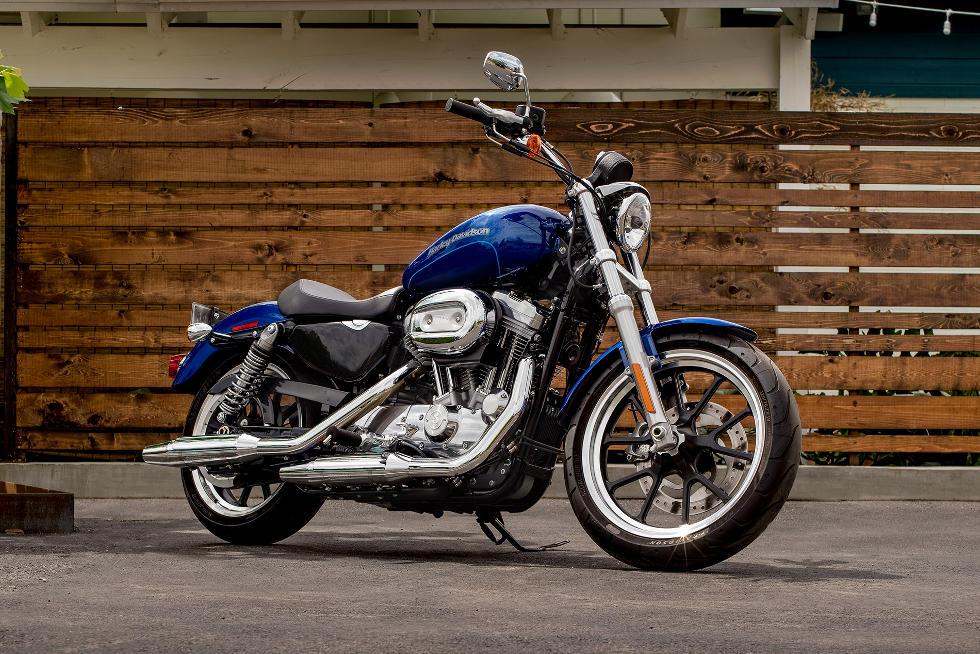 Harley Davidson Sportster Xl 883 Superlow Modelljahr 2017