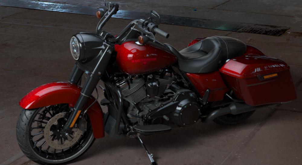 Hot Rod Harley >> Harley-Davidson Road King Special 2017 - Farben und Preise