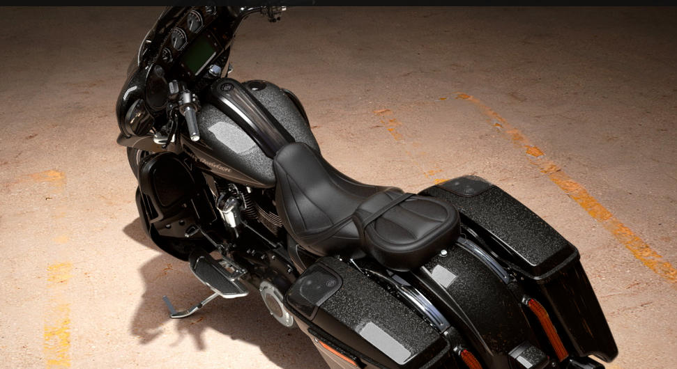 Harley Davidson Starfire Black Paint