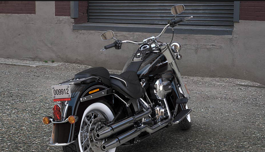 harley davidson softail deluxe 2017 farben und preise. Black Bedroom Furniture Sets. Home Design Ideas