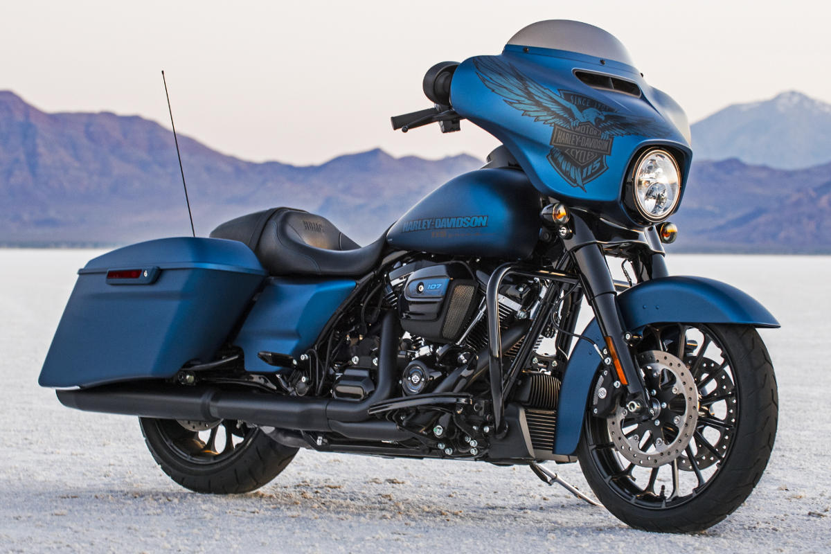 Harley Davidson Street Glide Special Colors