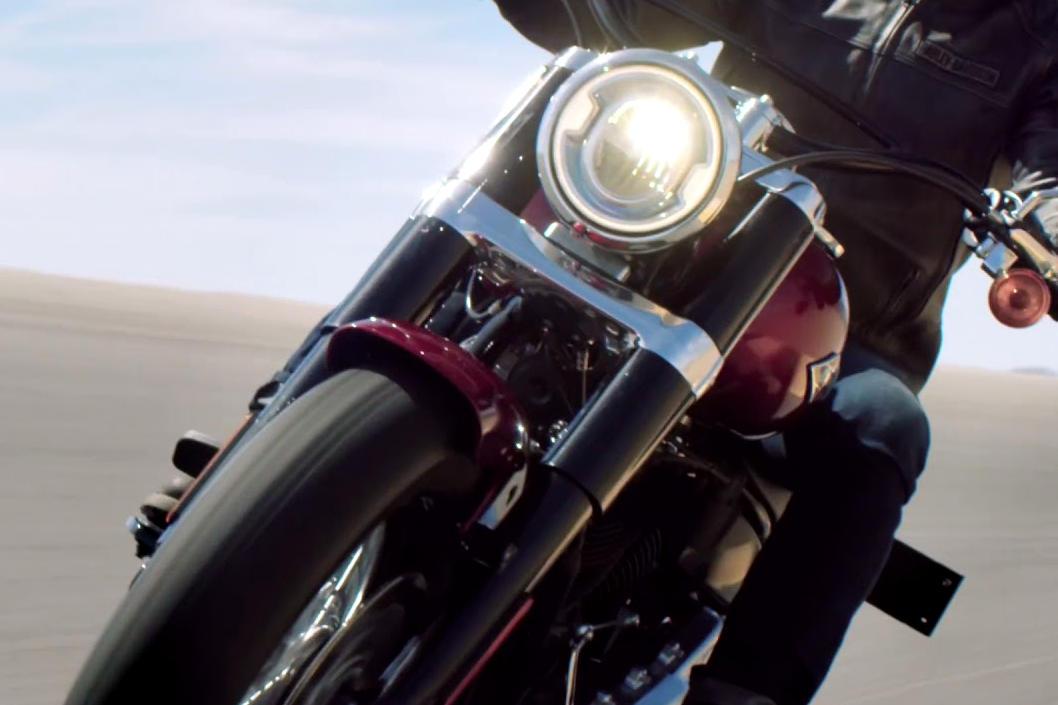 Harley Softail Slim >> Harley-Davidson Softail Slim Modelljahr 2018 - Bike ...