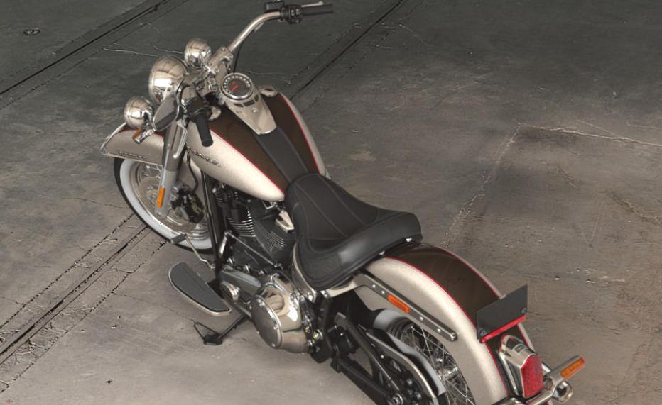 Black And Silver Harley Davidson
