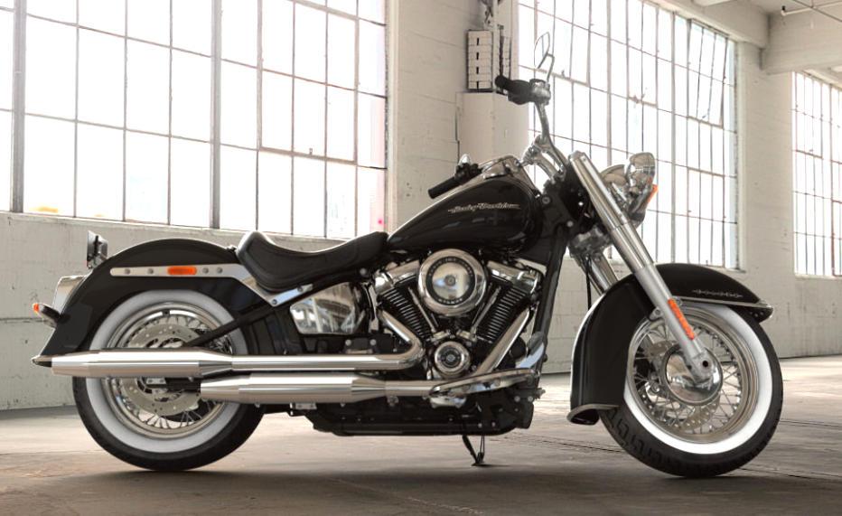 Harley Davidson Softail Deluxe 2018 Farben Und Preise