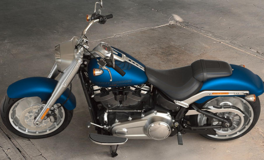 Harley Davidson Fatboy Pictures