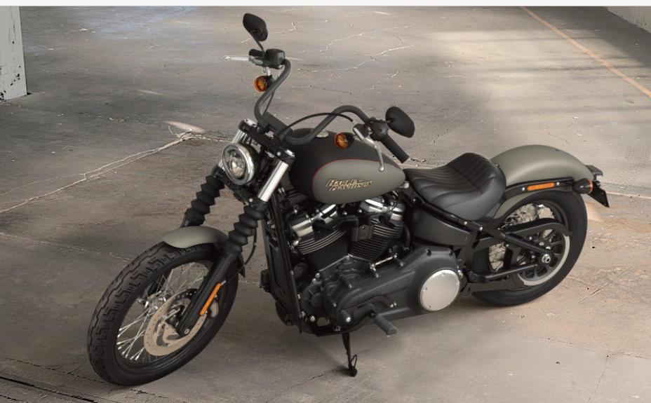2018 Harley Davidson Street Bob >> Harley-Davidson Softail Street Bob 2018 - Farben und Preise *)