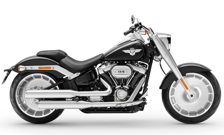 harley davidson softail fat boy 2019 farben und preise. Black Bedroom Furniture Sets. Home Design Ideas