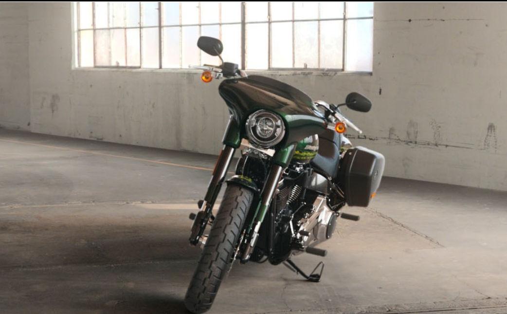 Harley Davidson Road Glide >> Harley-Davidson Softail Sport Glide 2019 - Farben und ...